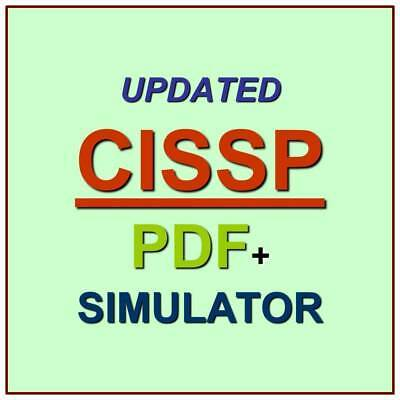 ISC2 CISSP Info Systems Security Test Exam 3075 QA W/ Explanations PDF+Simulator