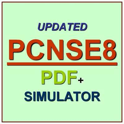 Palo Alto Certified Network Security PCNSE Test PCNSE8 Exam QA PDF+Simulator