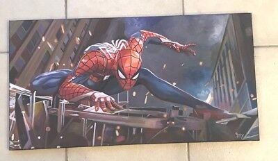 "Spiderman Avengers Comic 18""x30"" Pop Art Painting Cargill"