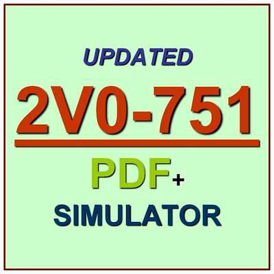 VMware Certified Professional 7 Desktop VCP7-DTM Exam 2V0-751 Test QA+SIM
