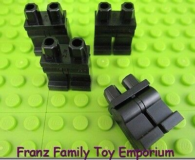 LeGo 4x Black Minifig Hands Body Part NEW