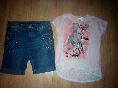 Miss Attitude & Total Girl 2 Piece Girls Outfit Size 10