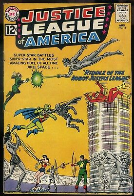 Justice League of America #13 VG-