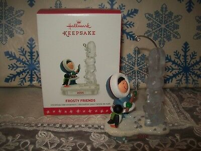 Hallmark Frosty Friends #37 Series 2016 Christmas Keepsake Ornaments Totem Pole
