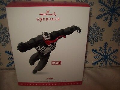 Hallmark Venom 2016 Christmas Keepsake Ornaments Marvel Comics Spiderman