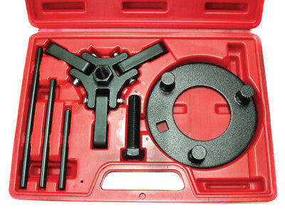 Chrysler GM FORD Mitsubishi 3 ARM Harmonic Balancer Dampener Puller Kit w/ Case
