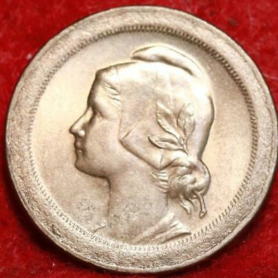 1921 Portugal 10 Centavos Foreign Coin