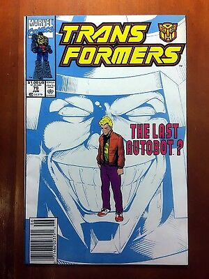 TRANSFORMERS #79 2nd TO LAST ISSUE OF THE ORIGINAL SERIES!