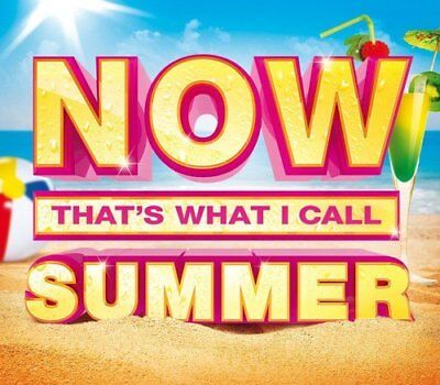 NOW THAT'S WHAT I CALL SUMMER ~ 3CD Party Hits Wham, Avicii,Bastille And More