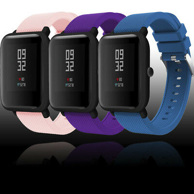 NEW Sport Soft Silicon Wirstband Watch Strap Band For Xiaomi Huami Amazfit Bip