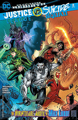 JUSTICE LEAGUE SUICIDE SQUAD #2, MAIN COVER, New, First print, DC (2016)
