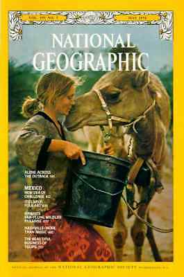 Nat Geographic MAY 1978 FOLK ART TULIPS NASHVILLE HAWAII  MEXICO THE OUTBACK