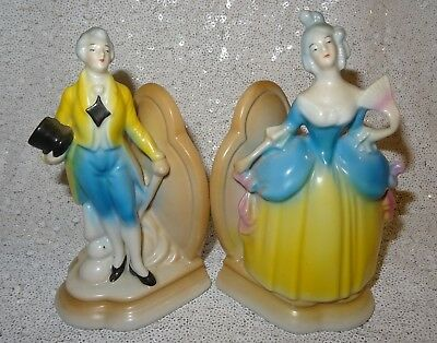 Gorgeous Pair of German Antique Art Deco Victorian Style Figural Bookends