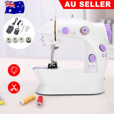 New Electric Multi-function Portable Mini Desktop Sewing Machine Handheld AU