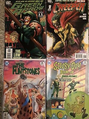 Dc Comics Superhero Collection green arrow,scooby doo,flinstones ,creeper x4com