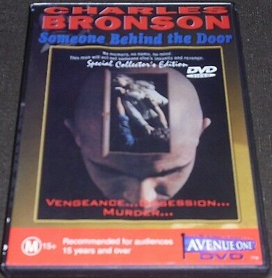 Someone Behind The Door Dvd (Charles Bronson) Region Pal