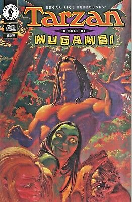 Tarzan : A Tale Of Mugambi  #1  One-Shot  Dark Horse  1995  Nice!!!