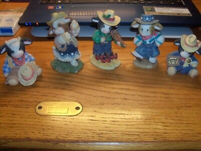 Mary Moo Moo  Cowboy Cowgirl  Fiddle   Mary Moo Moo's  5 Of Them  L@@@@k