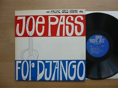 Joe Pass ‎- For Django  USA 1964  LP  Pacific Jazz Records ‎- ST-85 Vinyl: vg++