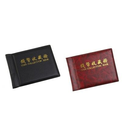 2pcs Banknote Currency Collection Coin Album Book 60 Holders Money Pocket