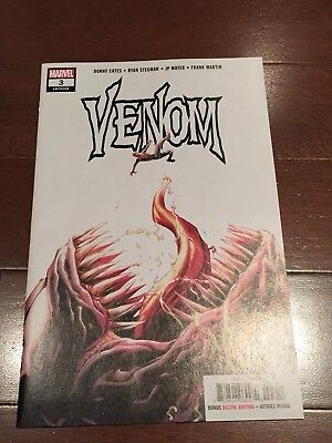 Venom #3 (Marvel Comics 2018) 1st App Knull the Symbiote God NM+ Donny Cates!