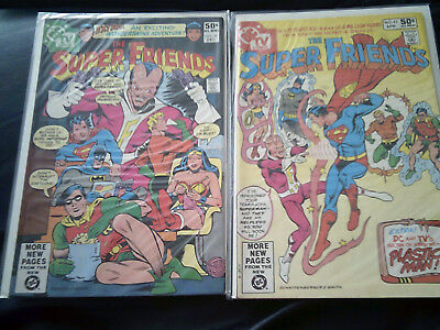 Super Friends #39 & #43  1980/81 (FN+)  Two Issue Lot