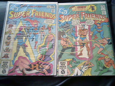 Super Friends #45 & #46  1981 (FN+)  Two Issue Lot