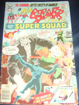 All Star Comics #63 Dec 1976 (FN) Bronze Age With Justice Society Of America