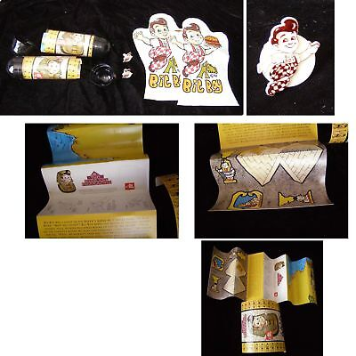 Big Boy Lot Hand Puppet Ring Fun With The Pharoah Time Capsule +