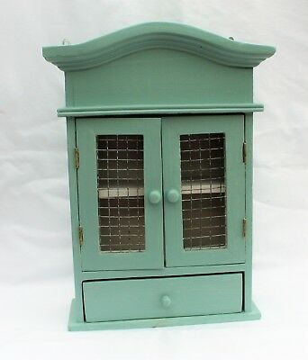Small Painted Pine Wall Cabinet.