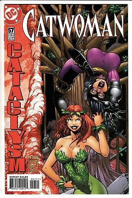 CATWOMAN #57, JIM BALENT COVER, DC Comics (1998)