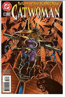 CATWOMAN #58, JIM BALENT COVER, DC Comics (1998)