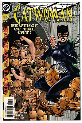 CATWOMAN #77, JIM BALENT COVER, DC Comics (2000)