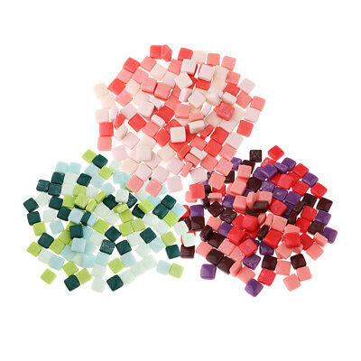 110x Colorful Square Glass Mosaic Tiles Tessera for Art Craft Supply 12x12mm