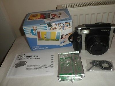 Fujifilm Instax Wide 300 instant camera  with 10 shots