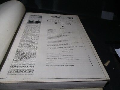 1938 MARINE ENGINEERING and SHIPPING AGE BOOK Volume 43  R904 PR