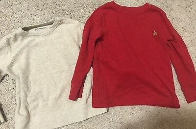 Lots Of 2 Baby Gap Boys Longsleeve Henley Shirts. 2T.