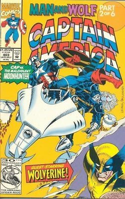 Captain America 403 from 1992 - Woverine Appears