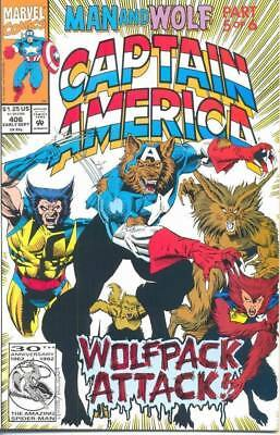 Captain America 406 from 1992