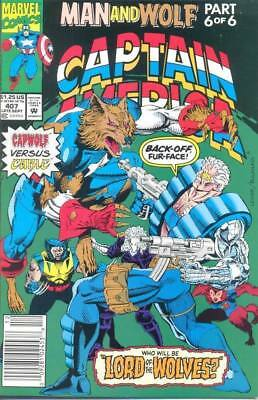 Captain America 407 from 1992