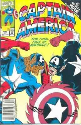 Captain America 408 from 1992