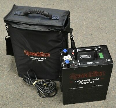Speedotron Explorer 1500 Portable Power Pack with Case
