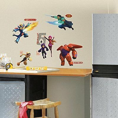 RoomMates Big Hero 6 Peel and Stick Wall Decals