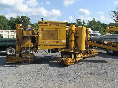 1990 Gomaco Gt6300 Concrete Curb And Gutter Machine Runs And Works Great