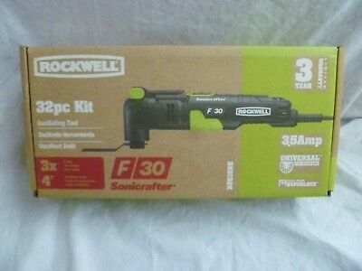 Rockwell F30 Sonicrafter 32 Piece  Oscillating Tool Kit W/ Case - Rk5132K