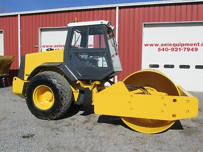 2000 Benford Sp2010 Roller Smooth Drum Vibratory Compactor Full Cab Cummins Eng