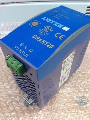 Lutze Dran120-24B power supply rail mounted din