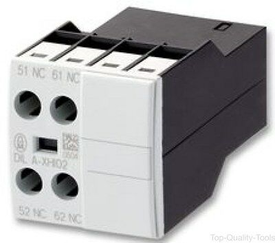 Contact Block, 1NO/1NC, 10 A, 500 V, 2 Pole, DILM Series, Screw