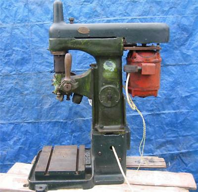 Alfred Herbert Industrial Bench Drill. Heavily Built. Single Phase.