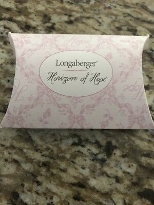 Longaberger Horizon Of Hope Tie-On/Pin, 2002, New In Package